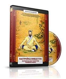 """DVD: Practica taoísta """"Simetría del cerebro, creación del Niwan Gong""""."""